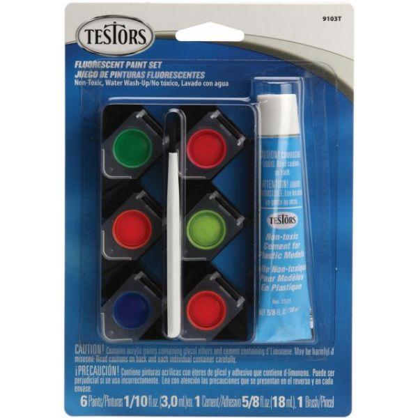 Testors Acrylic Paint Pot Set