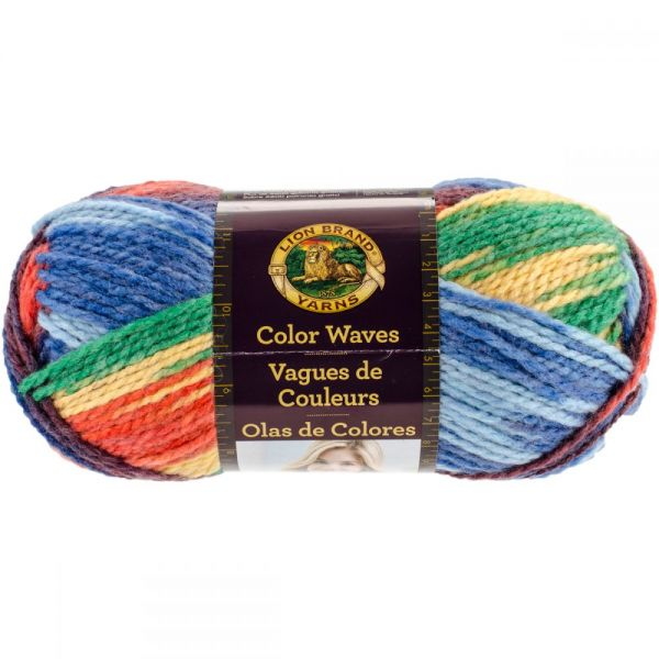 Lion Brand Color Waves Yarn - Starboard