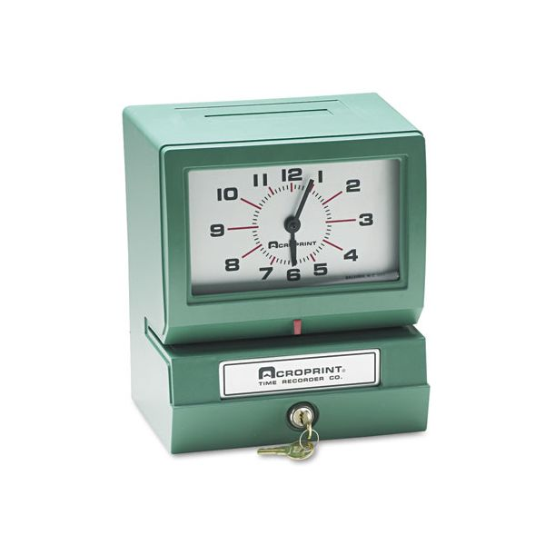 Acroprint 150 Electronic Time Clock & Recorder