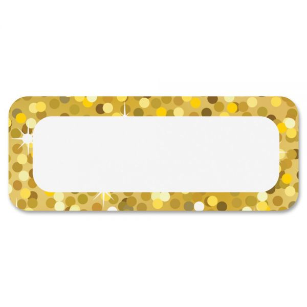 Ashley Gold Sparkle Magnetic Nameplate
