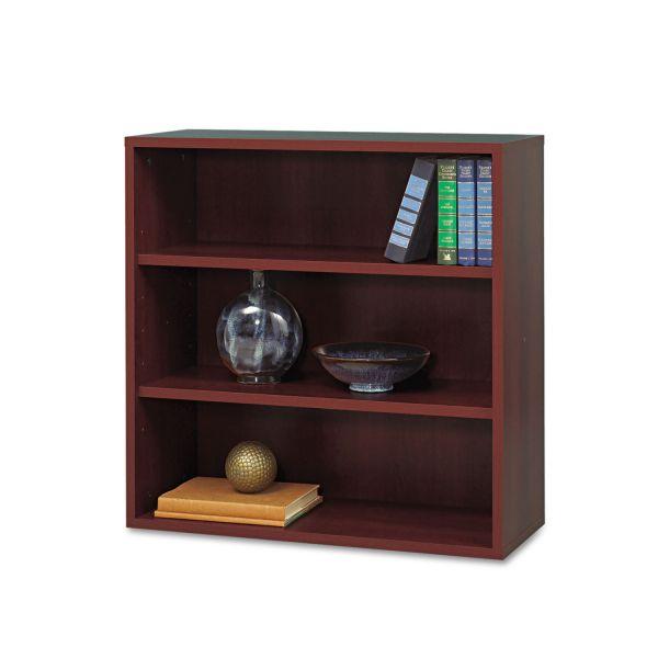 Safco Après Modular Storage 3-Shelf Laminate Open Bookcase