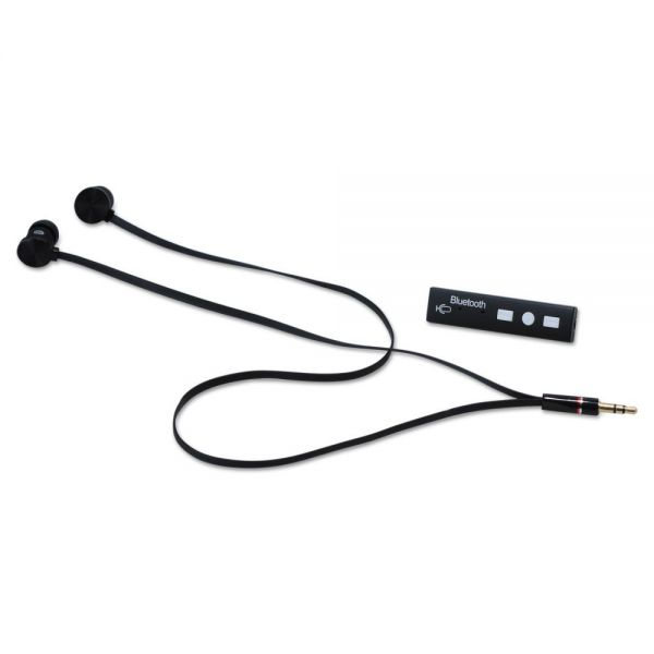 Case Logic Earbuds with Bluetooth Converter, Black