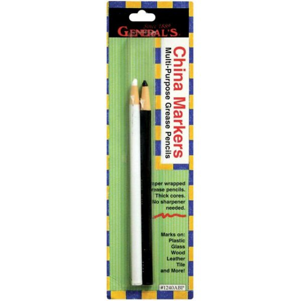 China Marker Multi-Purpose Grease Pencils 2/Pkg