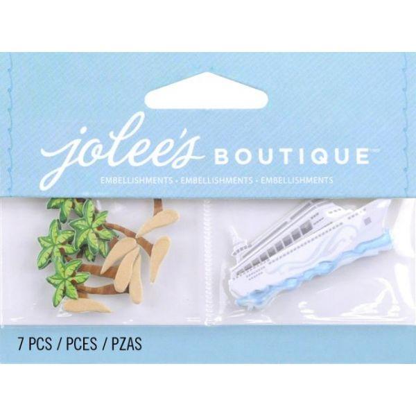 Jolee's Boutique Dimensional Embellishments 7/Pkg