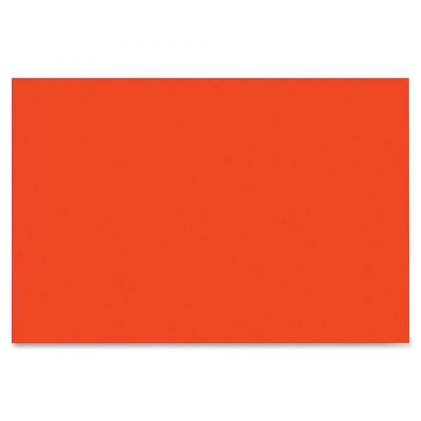 SunWorks Heavyweight Orange Construction Paper