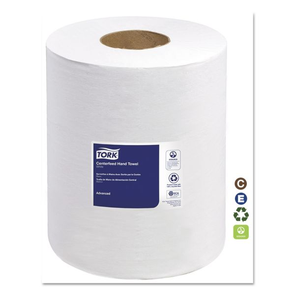 Tork Center-Feed Paper Towel Rolls