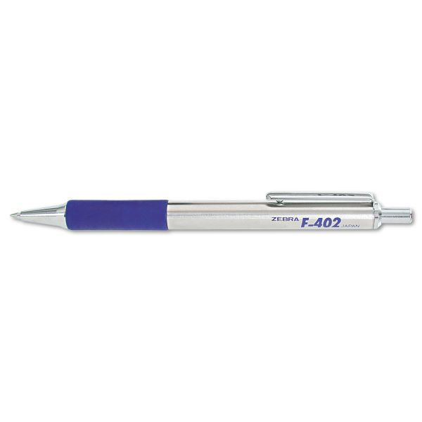 Zebra Pen F402 Retractable Ballpoint Pen