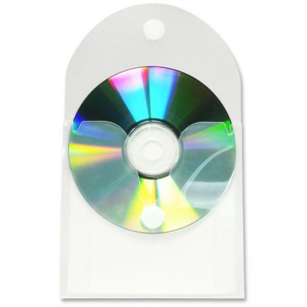 Baumgartens Top-load Adhesive CD/DVD Pockets