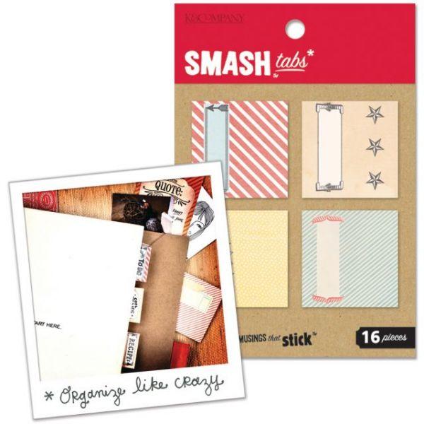 SMASH Page Tabs 16/Pkg