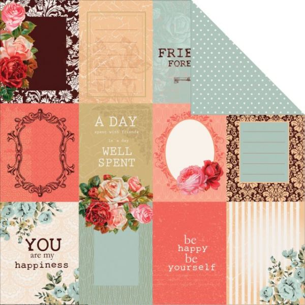 "Storyteller Double-Sided Cardstock 12""X12"""