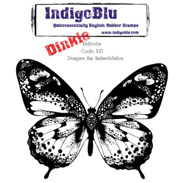 "IndigoBlu Cling Mounted Stamp 4""X4"""