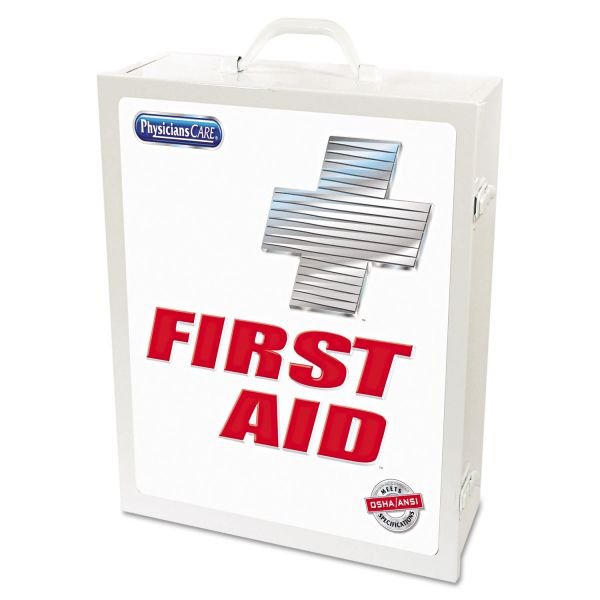 Acme United Industrial First Aid Kit for 100 People, OSHA/ANSI, 947 Pieces, Metal