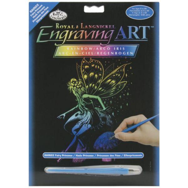 "Rainbow Foil Engraving Art Kit 8""X10"""