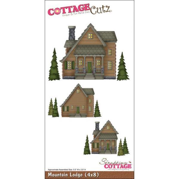 CottageCutz Mountain Lodge Die