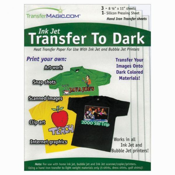 """Ink Jet Transfer Paper 8.5""""X11"""" 3/Pkg"""
