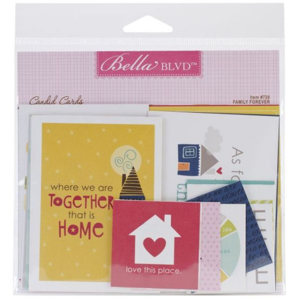 Family Forever Candid Cards 21/Pkg