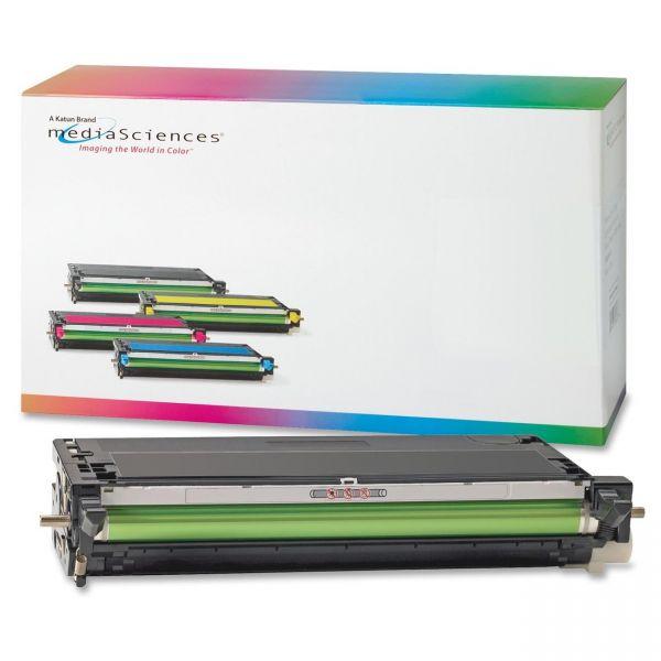 Media Sciences Remanufactured Xerox 106R01395 Black Toner Cartridge