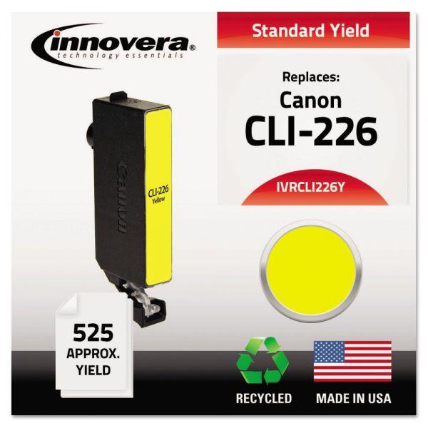 Innovera Remanufactured 4549B001AA (CLI-226) Ink, Yellow