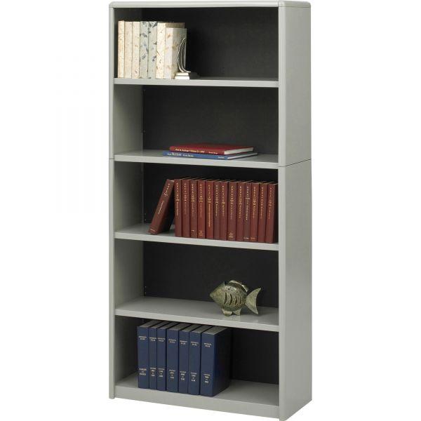 Safco ValueMate Economy 5-Shelf Steel Bookcase