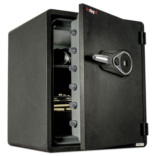 FireKing One Hour Fire and Water Safe with Electronic Lock, 2.14 cu. ft., Graphite