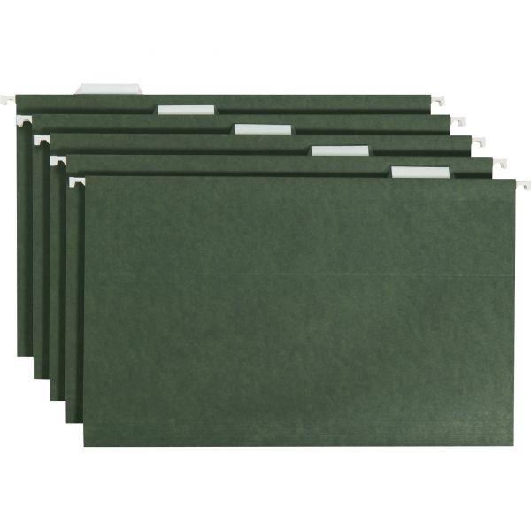 Smead 64155 Standard Green Hanging File Folders