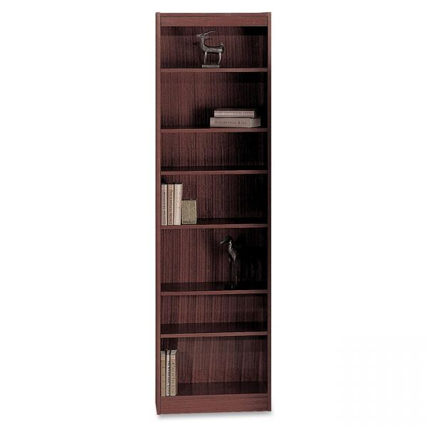 Safco 7-Shelf Veneer Baby Bookcase