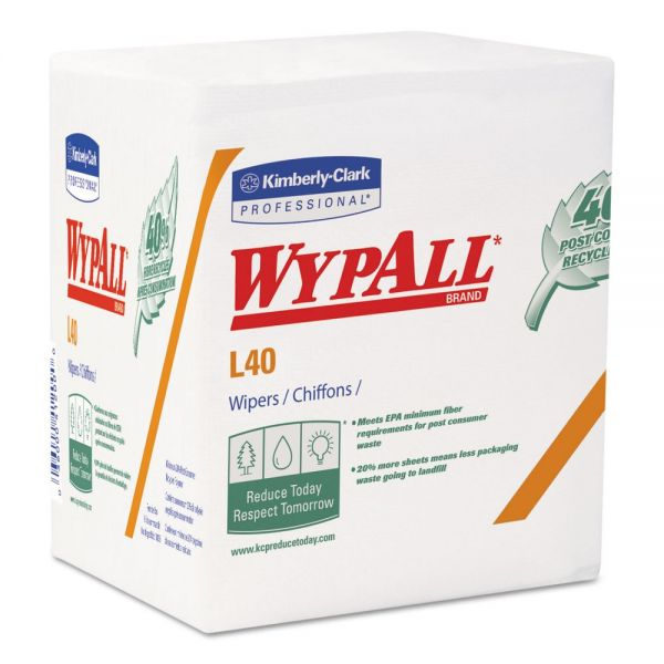 WypAll L40 Recycled Wipers