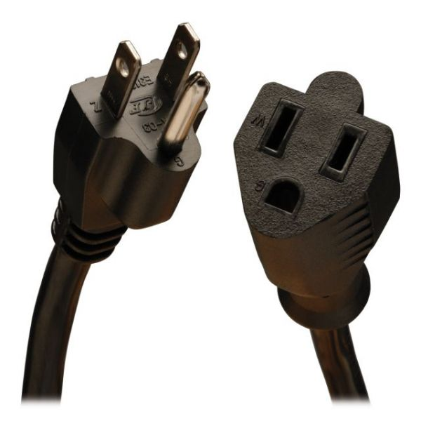 Tripp Lite 1' Power Extension Cord