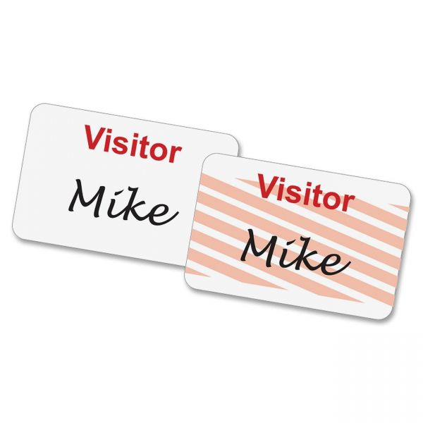 Baumgartens Self-Expiring Visitor Name Tags