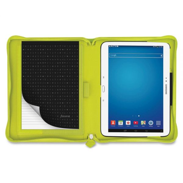 """Filofax Saffiano Carrying Case for 10.1"""" Tablet - Green"""