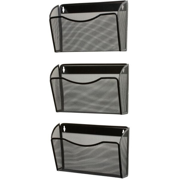 Rolodex Expressions Mesh Hanging Wall File Pockets
