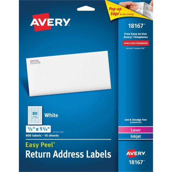 Avery Return Address Labels