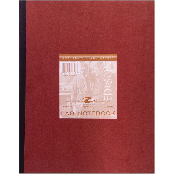 Roaring Spring Quad Ruled Lab Book