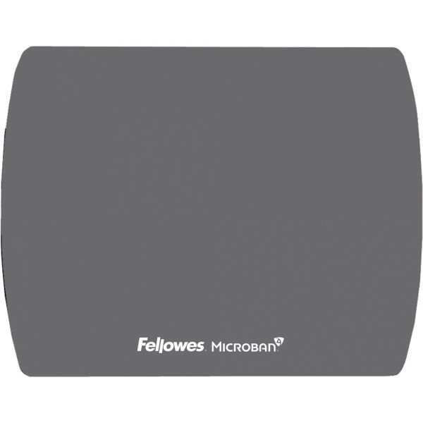 Fellowes Microban Ultra Thin Mouse Pad - Graphite