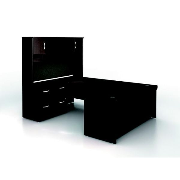 bbf Series C Executive Configuration - Mocha Cherry finish by Bush Furniture