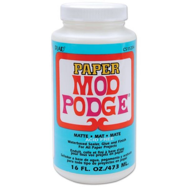 Mod Podge Paper Matte Finish