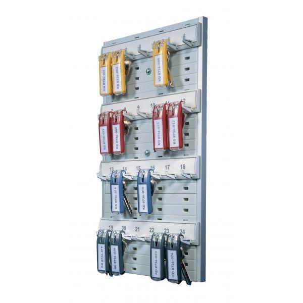 DURABLE 24-Capacity Key Board