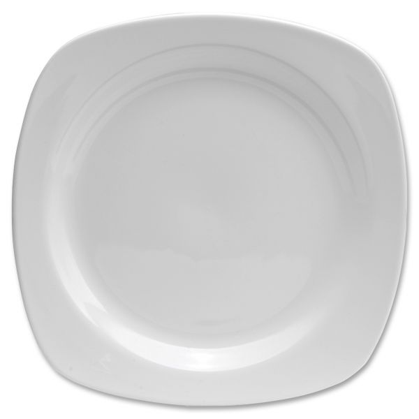 "Chef's Table Porcelain 8.5"" Square Salad Plates"