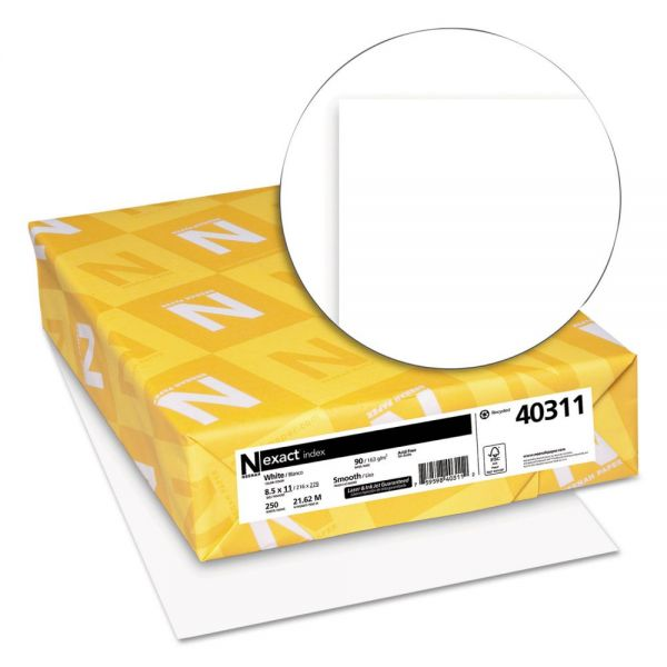 Neenah Paper Exact Index White Card Stock