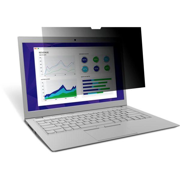 "3M PF156W9E Privacy Filter for Edge-to-Edge 15.6"" Widescreen Laptop Black"