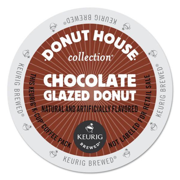 Donut House Chocolate Glazed Donut Coffee K-Cups