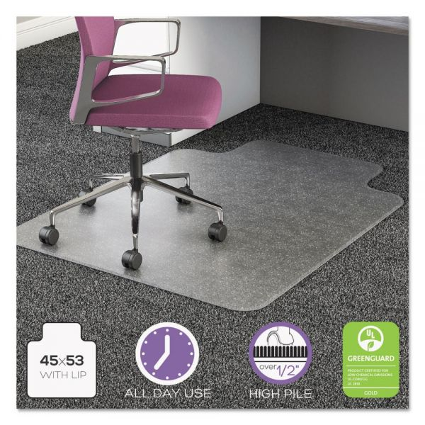 deflecto UltraMat All Day Use High Pile Chair Mat