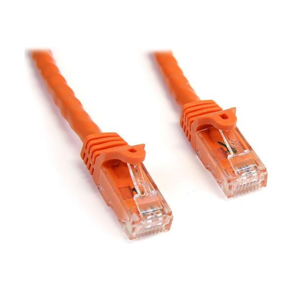 StarTech.com 10 ft Orange Snagless Cat6 UTP Patch Cable