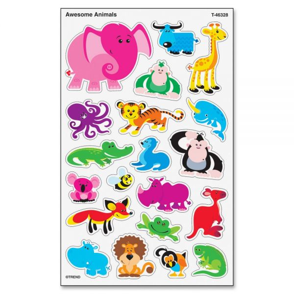 Trend Awesome Animals superShapes Stickers