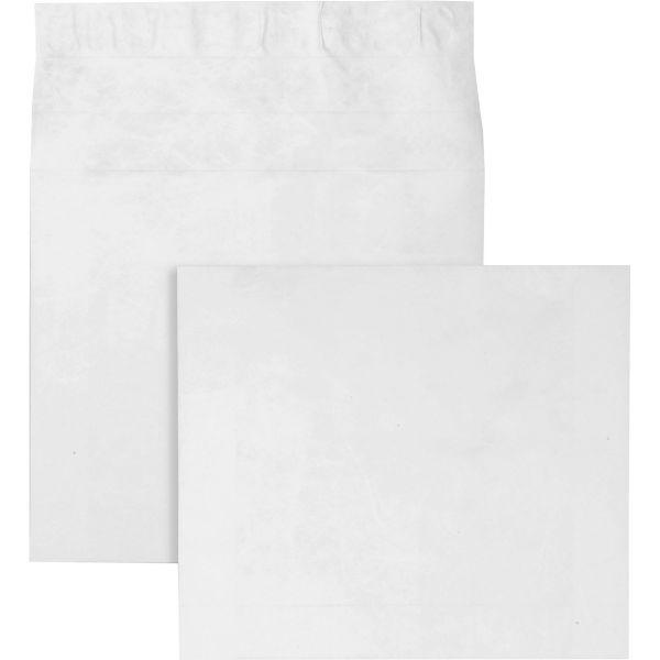 Survivor Tyvek Booklet Expansion Mailer, 12 x 16 x 2, White, 18lb, 100/Carton