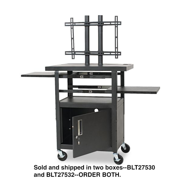 Balt Adjustable Height Flat Panel TV Cart Box 2 of 2