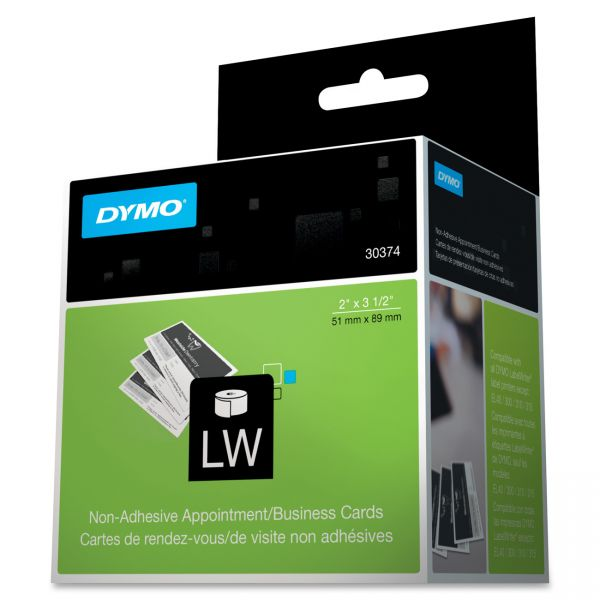 Dymo Appointment/ Business Cards