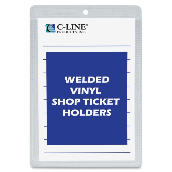 C-Line Vinyl Shop Seal Ticket Holders