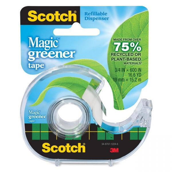 "Scotch 3/4"" Magic Greener Transparent Tape"