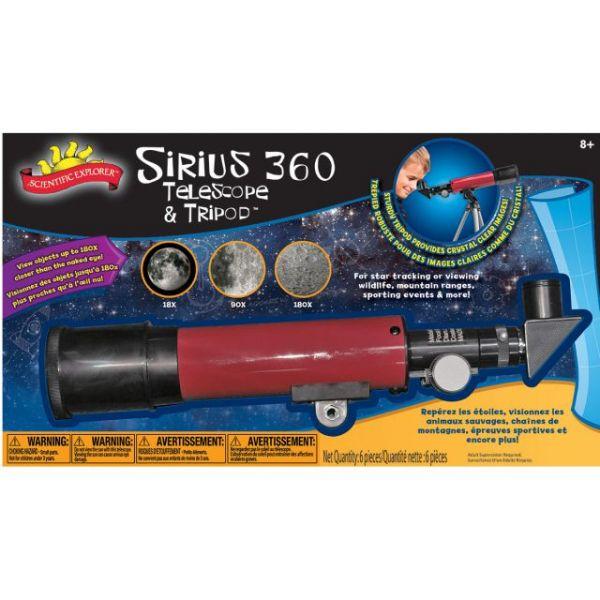 Sirius 360 Telescope And Tripod